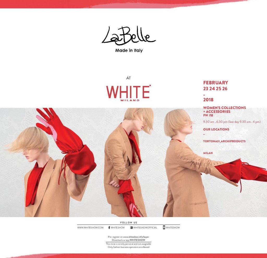 White Show Milano – Collection F/W 2018